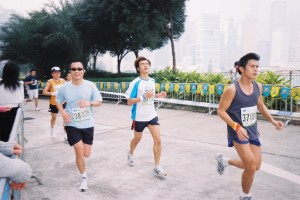 Runners compete in Hong Kong Race